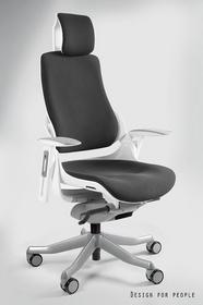 Unique Fotel biurowy WAU Tkanina BL czarny (W-609W-BL418)