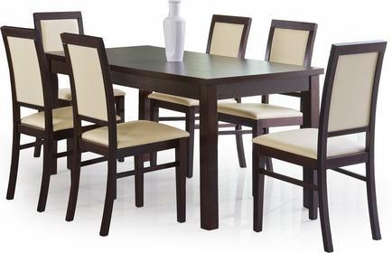 Halmar Stół rozkładany Ernest 160/200 + krzesła Venus