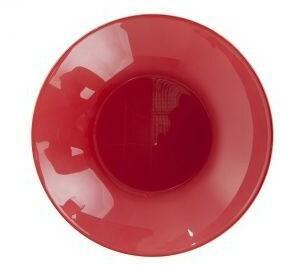 Luminarc Talerz głęboki Arty 20 cm Czerwony