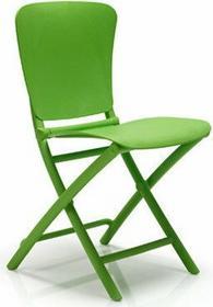 Nardi Składane krzesło ogrodowe na balkon Zic Zac zielone