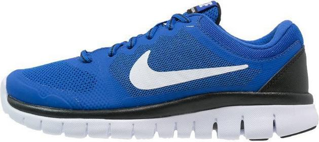 Nike Performance FLEX RUN 2015 Obuwie do biegania Amortyzacja game royal/metalli