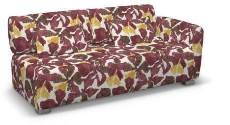 Dekoria Pokrowiec na sofę 2-osobową jeden podłokietnik Mysinge Mosaik żółto-brąz