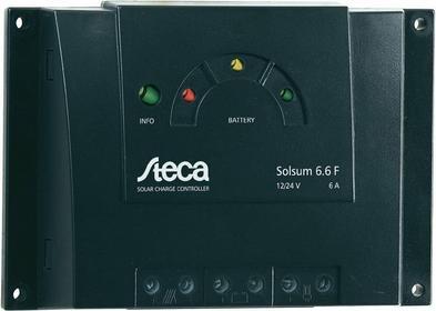 Steca Regulator ładowania systemów solarnych Solsum 6.6F 1