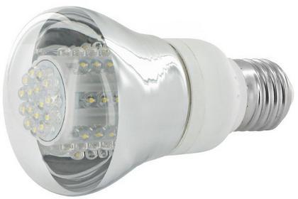 Whitenergy Żarówka LED Reflektor WHITENERGY R63.80LED E27 4W 230V Ciepła biała 07575