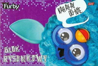 Blok rysunkowy A4 Furby 20 kartek-