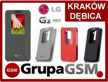 LG ETUI COVER QUICK Window CCF-370 do LG G2 Mini kolor: czarny