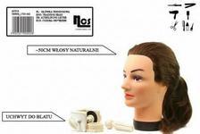Long Hair Główka fryzjerska damska Anna 50 cm + statyw