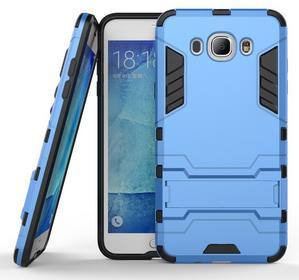Samsung Niebieskie Etui Combo Hybrid Stand Case Galaxy J7 2016