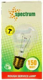 Spectrum Żarówka specjalistyczna 150 w E27 przeźroczysta Żarówka wstrząsoodporna 1 szt.
