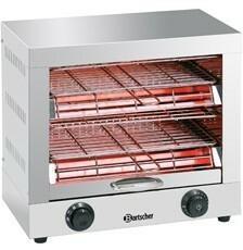 Bartscher Opiekacz do tostów, podwójny A151600