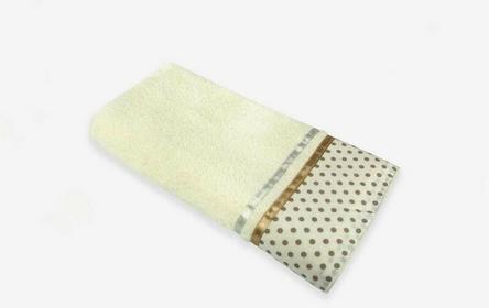 Arte Home Ręcznik bawełniany w złote kropki 20075- 30x50