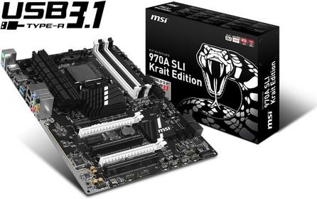 MSI 970A SLI Krait Edition/3.1
