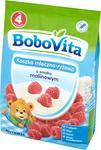 Nutricia BoboVita Kaszka mleczno-ryżowa o smaku malinowym 230g
