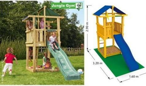 Jungle Gym Plac zabaw Hut