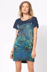 Answear Sukienka - - Sukienka Intuition wielokolorowy WS15.SUD060