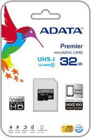 A-Data MicroSD Class 10 + Czytnik 32GB
