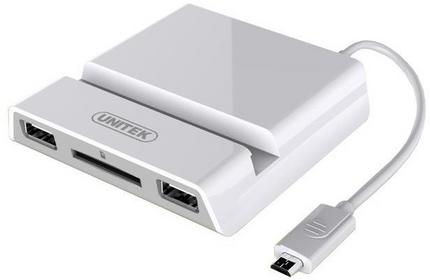 Unitek Uchwyt Y-2165 Dock OTG do Galaxy + MHL - Y-2165