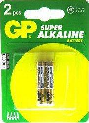 GP Batteries bateria AAAA 2szt.)Ultra Alkaline 25A-U2