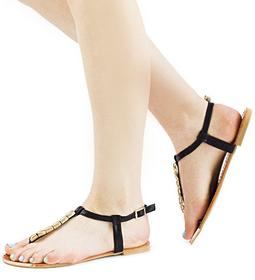 Czarne sandały Hinata czarny