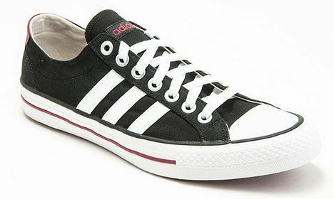 Adidas Vlneo 3 Stripes Low F39083 biało-czarny