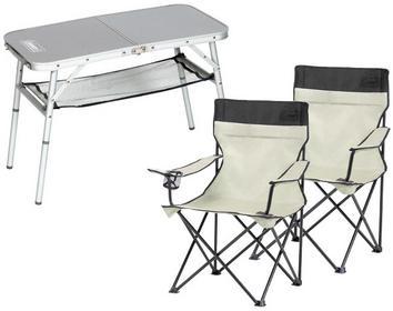 Coleman Zestaw stolik Mini Camp + 2 krzesełka Standard Quad