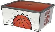 Curver Pojemnik Textile Basketball 18,5 l