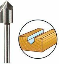 Dremel Frez do zarysów płaskich (HSS) 6,4mm (640) 2615064032