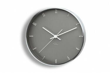 Tempus Zegar ścienny szary, arabic, 20 cm - PHILIPPI