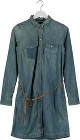 Esprit Sukienka jeansowa niebieski ED121C04A-K11