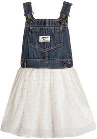 OshKosh Sukienka jeansowa denim 434G106/454G138 dziewczęta