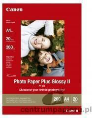 Canon Papier PP-201 Photo Glossy 260g 20 ark (A4).