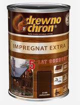 Drewnochron Impregnat Extra - 1L palisander - Impregnat Extra - 1 L palisander