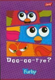 Zeszyt A5 Furby w 3 linie 16 stron-