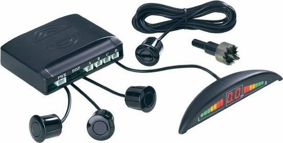 Conrad Asystent parkowania z dźwiękiem i wskaźnikiem LED 4 czujniki zasięg 30 -