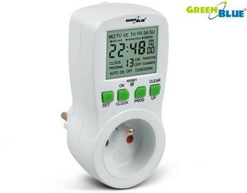 GreenBluE Timer cyfrowy GB107 16 programów 41860