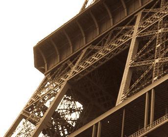 Bimago Obraz Oniryczy Paryż - sepia 58466