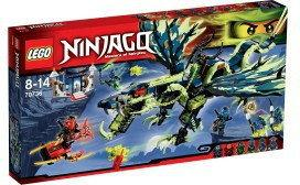 LEGO Ninjago - Atak smoka Morro 70736