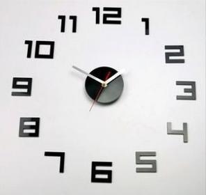 IKEA Zegar ścienny VINTAGE 3D, na ścianę DIY, klasyczny