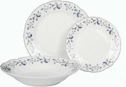 Domotti Porcelanowy komplet obiadowy 18el. IRYS