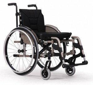 Vermeiren Wózek inwalidzki aluminium V300 active
