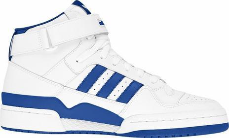 Adidas Forum Mid G19482 biało-niebieski