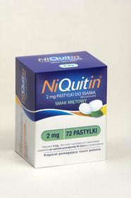 GlaxoSmithKline NiQuitin pastylki do ssania 2mg 72 szt.