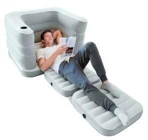Rozkładany fotel materac 2W1 Multi Max II 200 x 102 x 64 cm Bestway 75065