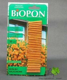 Biopon Pałeczki nawozowe ROŚLINY BALKONOWE 30szt.