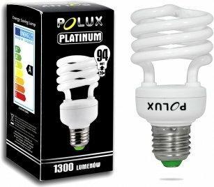 Polux świetlówka energooszczędna Platinum 20W E27 2700K SE0297