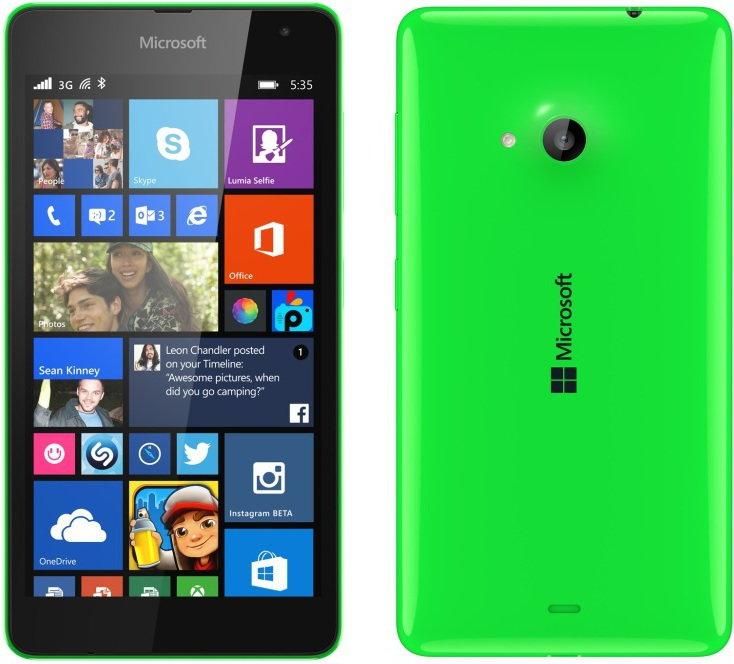 Microsoft Lumia 535 Dual Sim Zielony