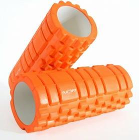 Wałek do masażu Foam Joga Roller Flexifit - pomarańczowy