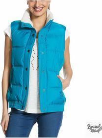 Roxy Kamizelka Explorer Jacket - kolor turkusowy