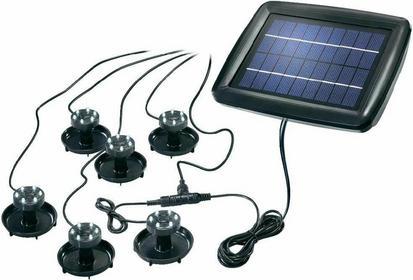 Esotec Lampa solarna 102150 LED wbudowany na stałe Akumulatory AA (w ze