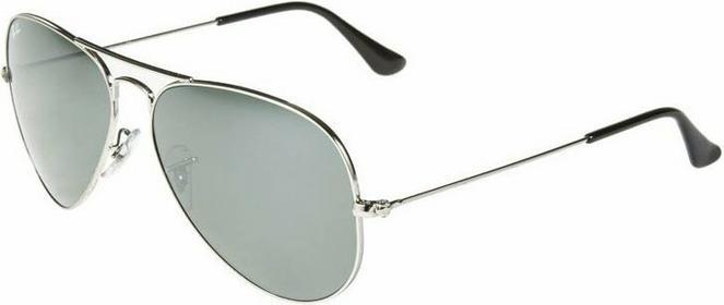 Ray Ban Ray-Ban AVIATOR Okulary przeciwsłoneczne silberfarben 0RB3025